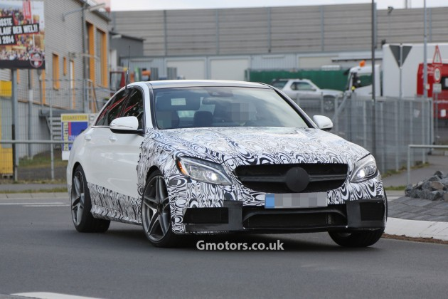 """Mercedes C63 AMG """"S"""" Model in the Works"""