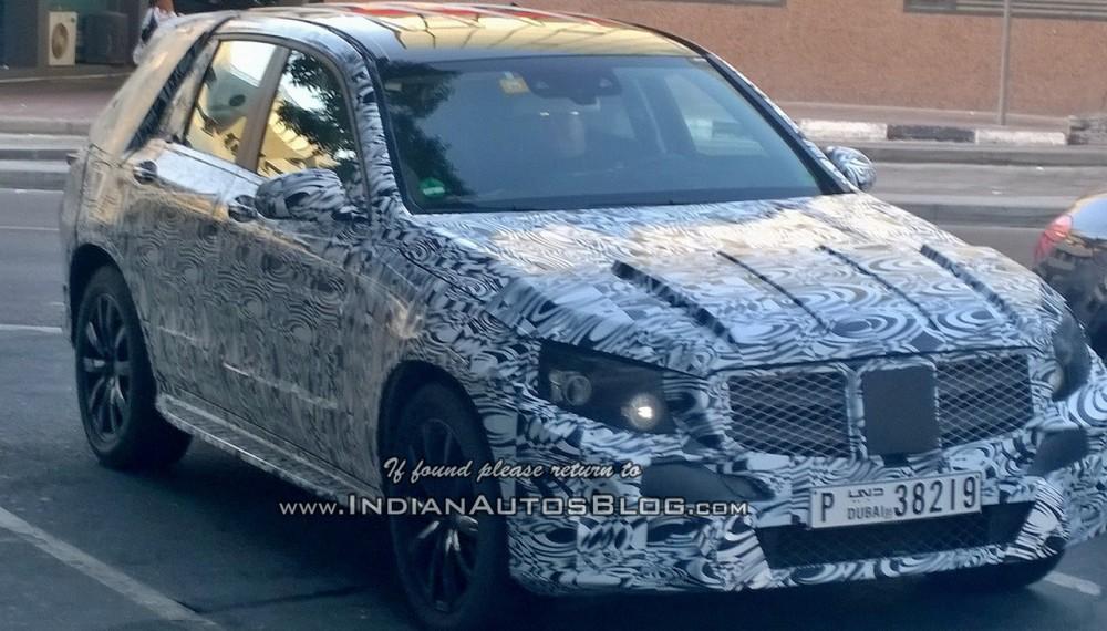 2015 Mercedes GLK Spied in Dubai