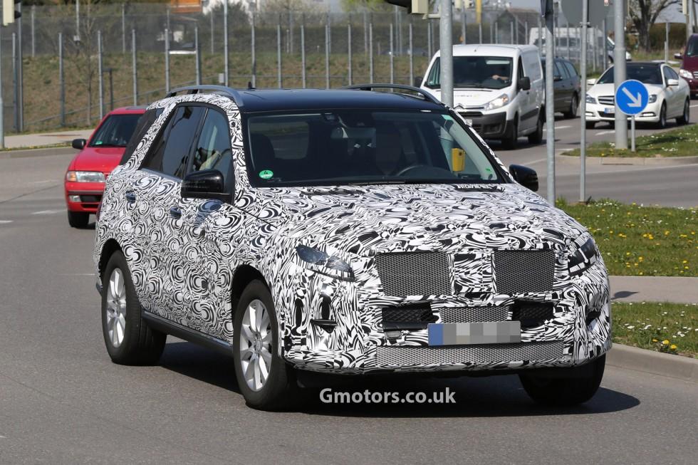 Mercedes-Benz M-Class Facelift