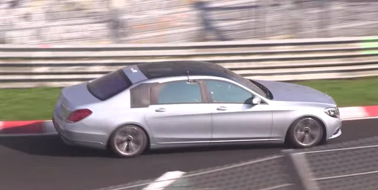 Nürburgring Testing for the Maybach Replacing S-Class - Video
