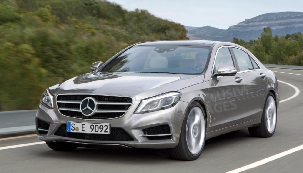 2015 Mercedes-Benz E-Class Spy Photos