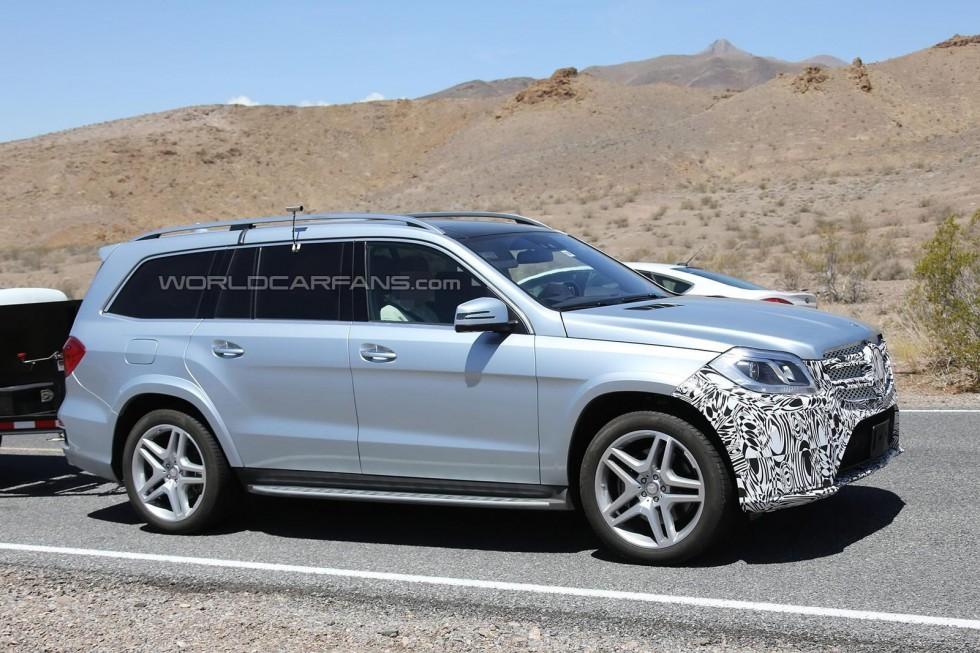 2015 Mercedes-Benz GL-Class Spy Photo