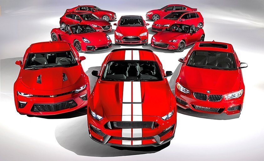 Car and Driver Top Ten