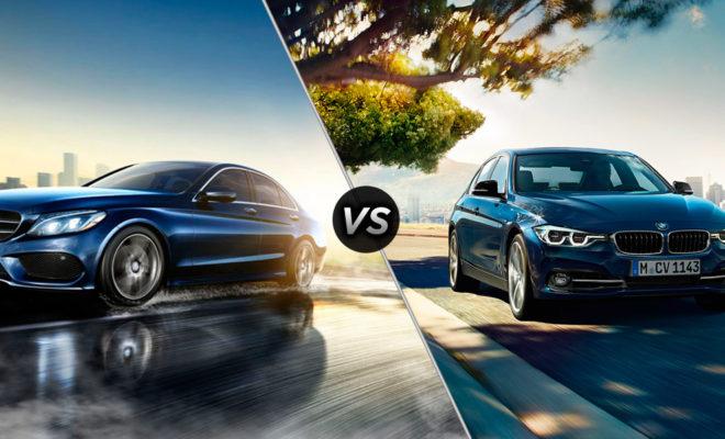 Mercedes Benz C-Class vs 2016 BMW 3-Series