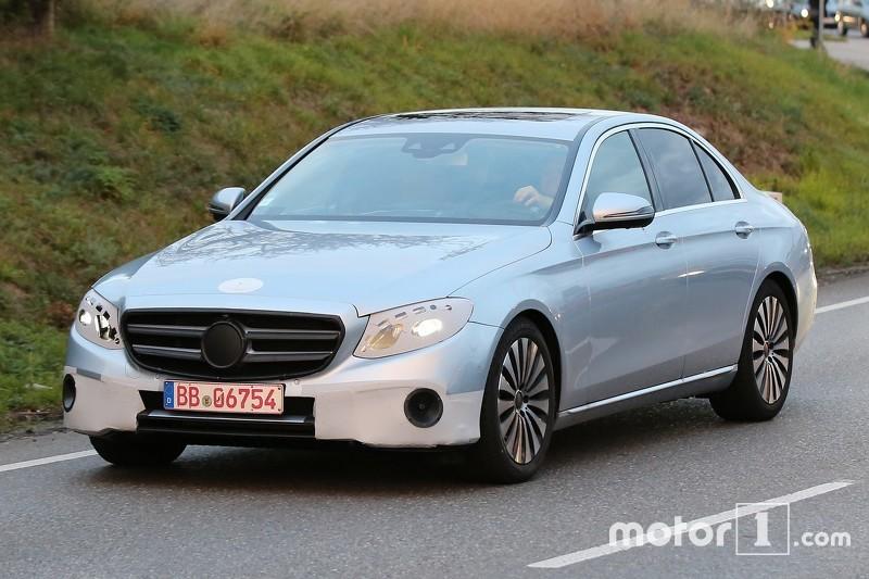 Mercedes-Benz E-Class Spy Photo