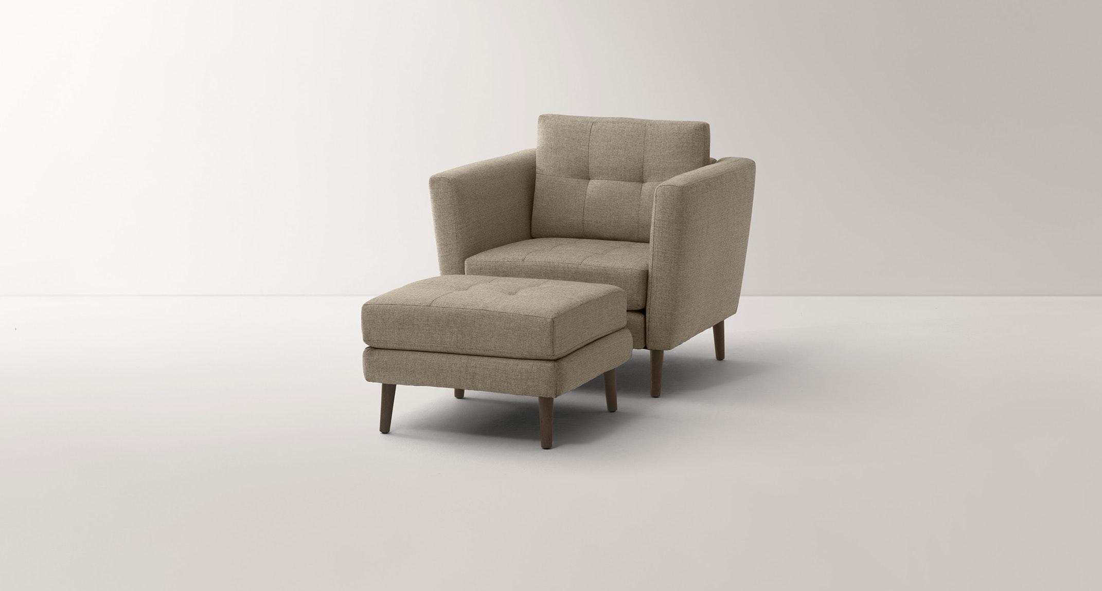 Burrow Beige Armchair