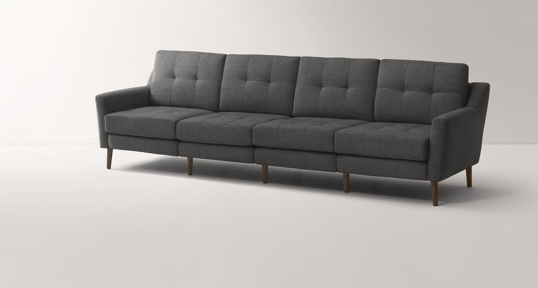Burrow Charcoal King Sofa