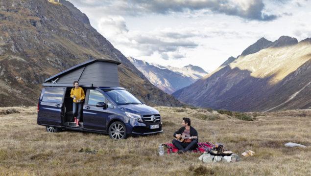 The new Mercedes-Benz Marco Polo – Exterior, cavansit blue metallic