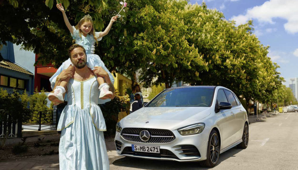 Justify Nothing -  Mercedes-Benz B-Class Campaign