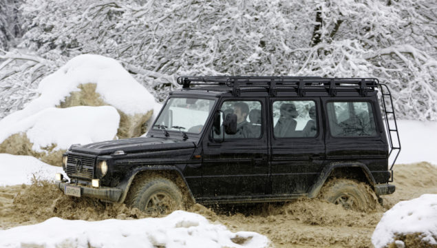 """Mercedes-Benz G-Class from model series 463, """"EDITION30"""" special model based on the G 500. Photograph from the press release dated 2009."""