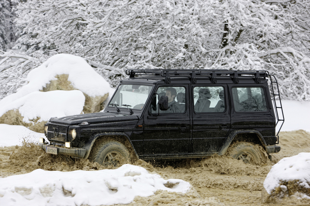 "Mercedes-Benz G-Class from model series 463, ""EDITION30"" special model based on the G 500. Photograph from the press release dated 2009."