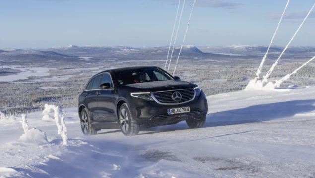An Electric Car that Excels on the Ice and in the Heat