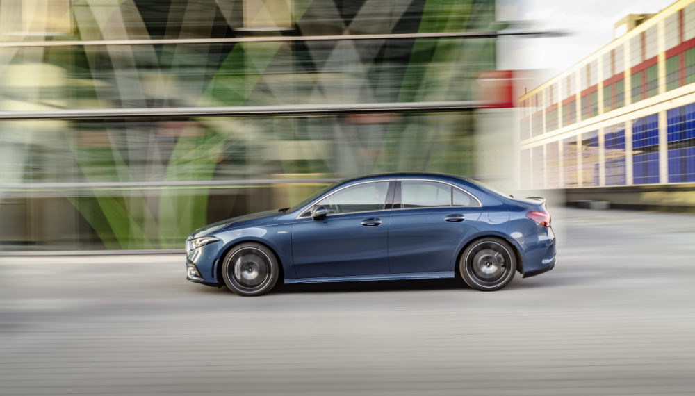 The New Mercedes-AMG A 35 4MATIC Saloon