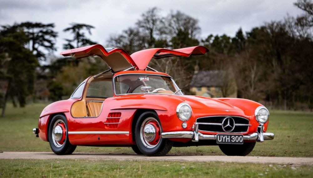 1954 mercedes-benz sl300 gullwing will likely fetch a 1 million at auction