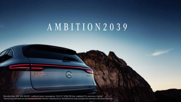 Mercedes-Benz to be Carbon-Neutral by 2039