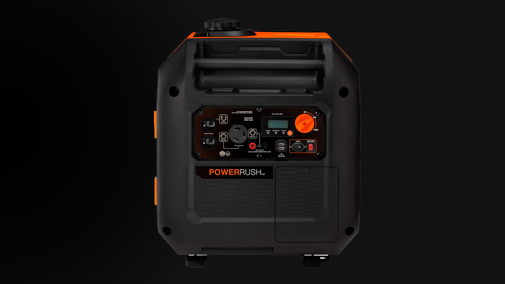 Generac iQ3500 Generator Control Panel