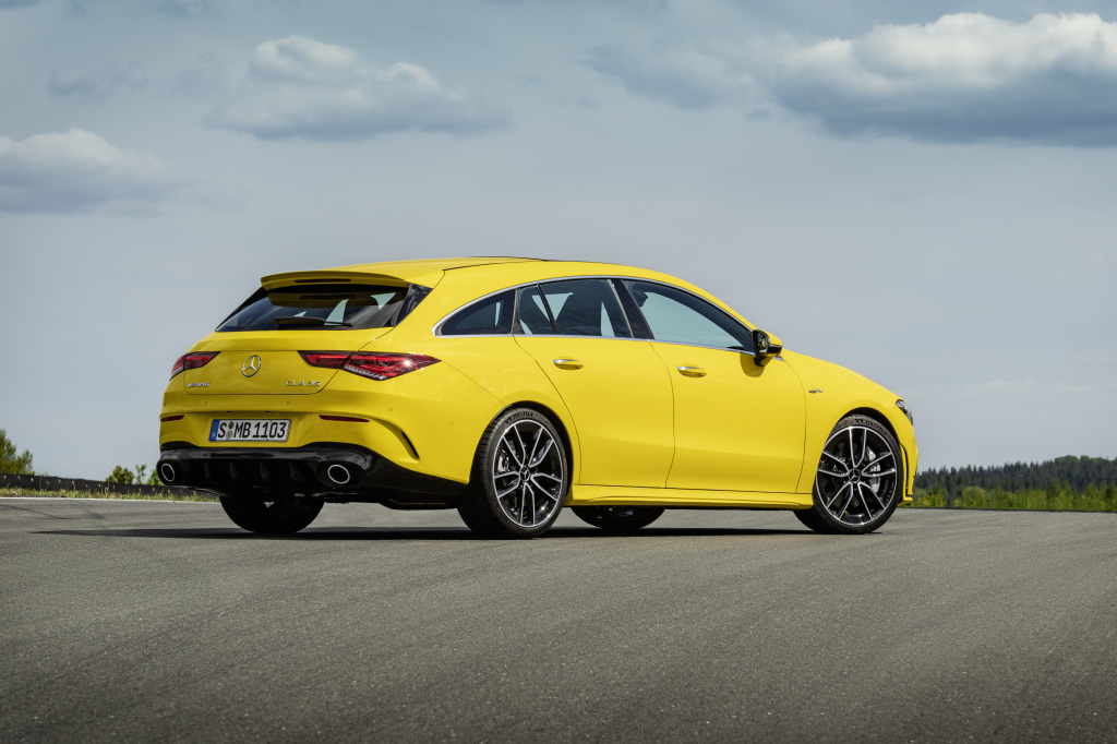 The New CLA 35 4MATIC Shooting Brake