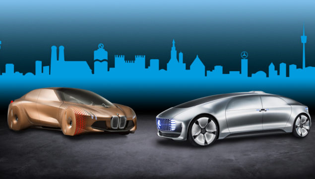 Daimler AG und BMW Group starten langfristige Entwicklungskooperation für automatisiertes Fahren