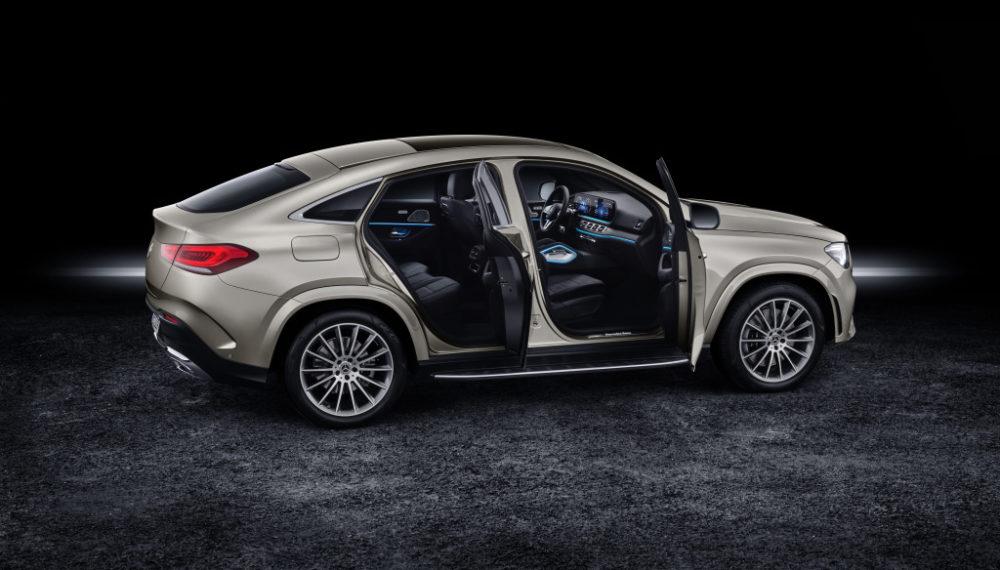 Mercedes-Benz GLE Coupé 2019, moyave silver, studio