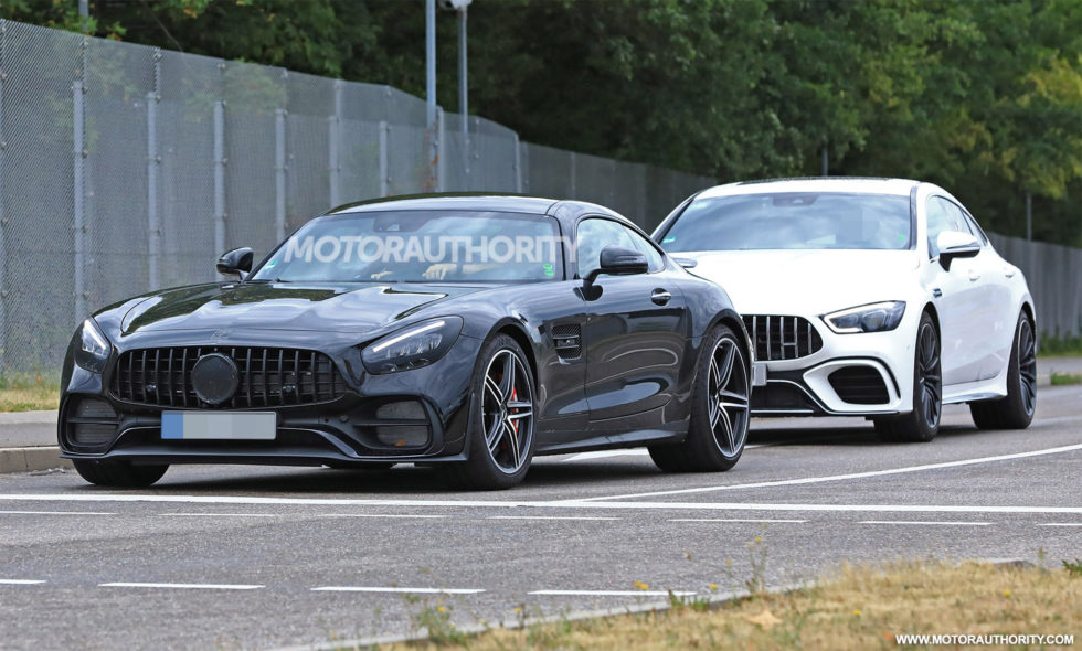 2020 Mercedes-AMg GT Spy Photo