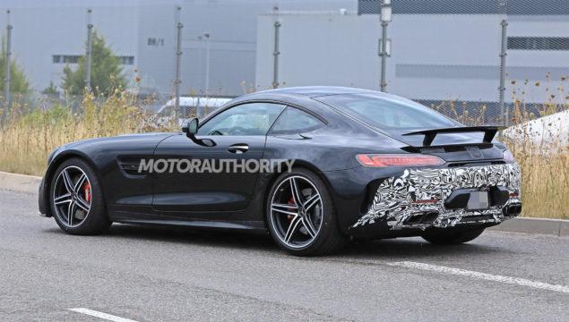 2020 Mercedes-AMg GT Spy Photo