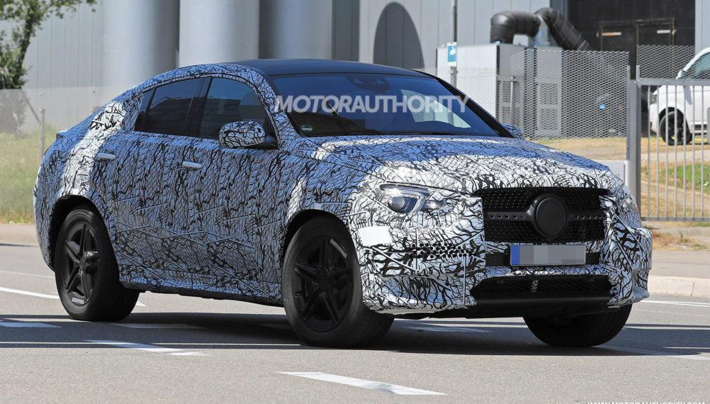 2020 Mercedes-Benz GLE Coupe Spy Photos
