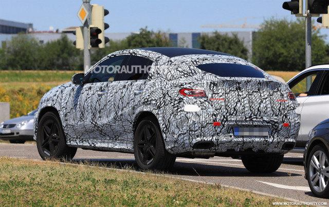 Spy Photos: 2020 Mercedes-Benz GLE Coupe | eMercedesBenz