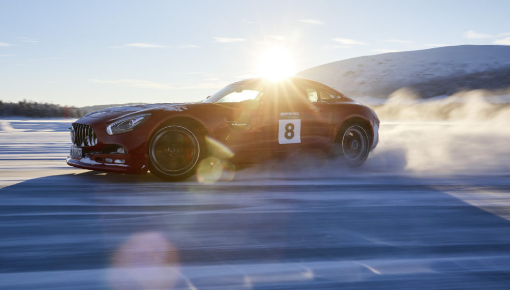 Mercedes-AMG GT S;Combined fuel consumption11.5 l/100 km, combined CO2 emissions 262 g/km*