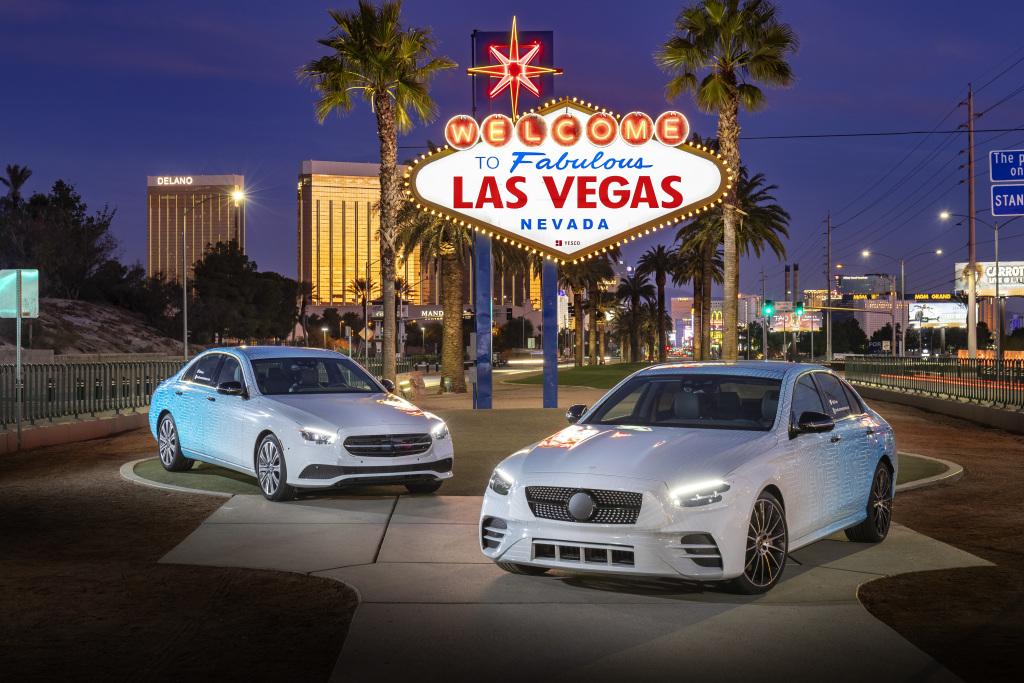 Mercedes-Benz E-Class Testride, Las Vegas 2020