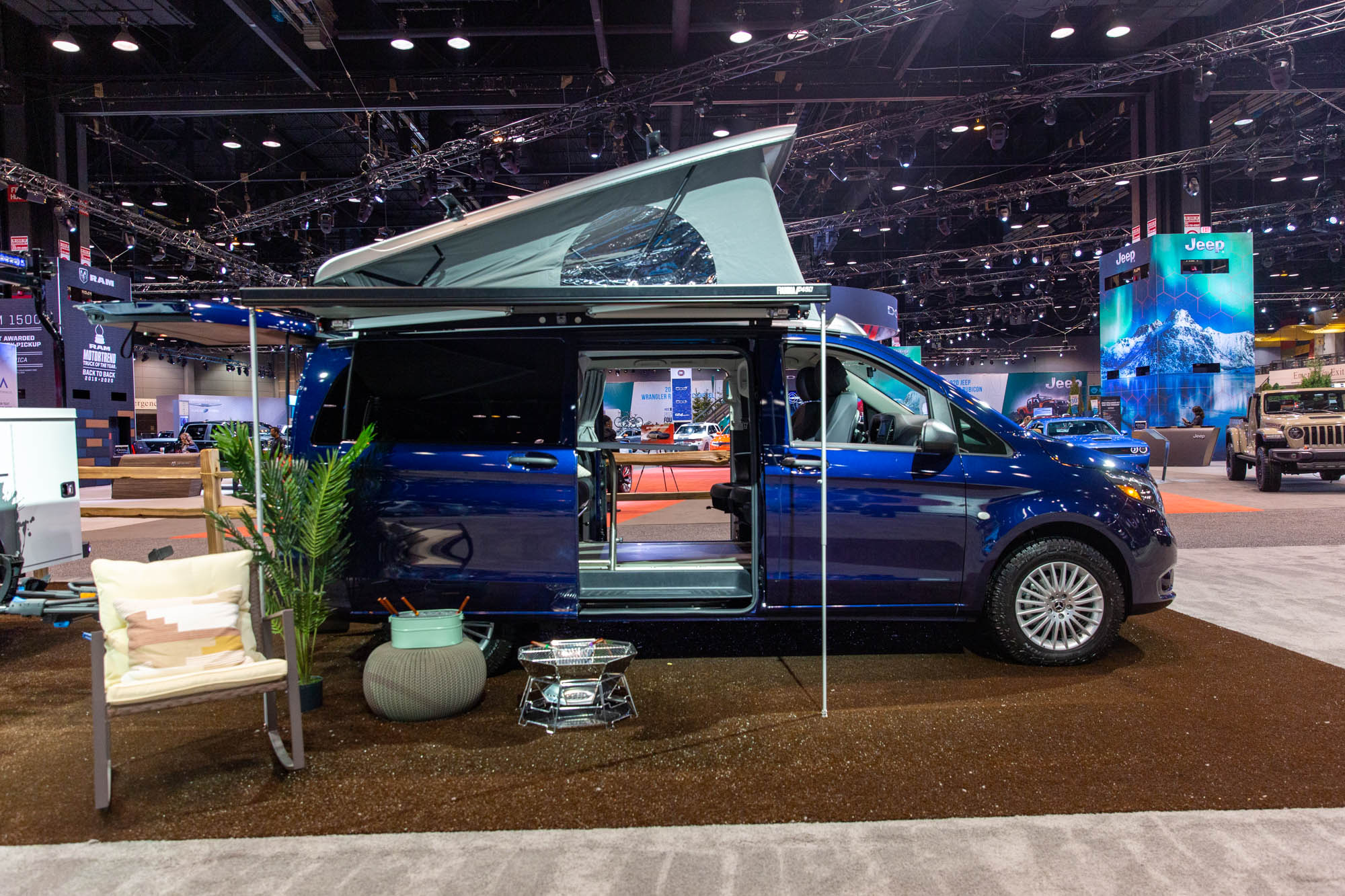 Mercedes-Benz Metris Pop-Up