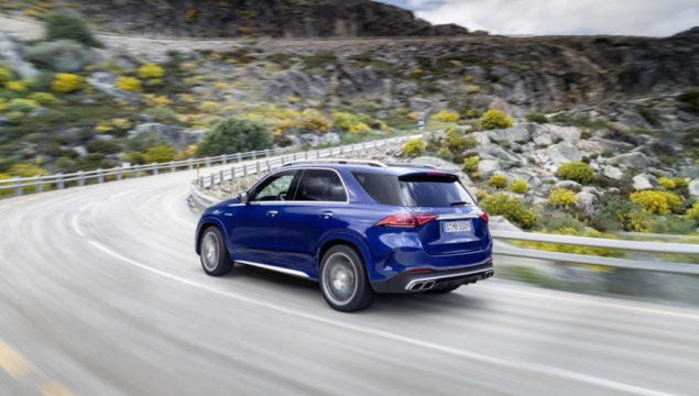 Mercedes-AMG GLE 63 S 4MATIC+;combined fuel consumption 11.5 l/100 km, combined CO2 emissions 262 g/km*