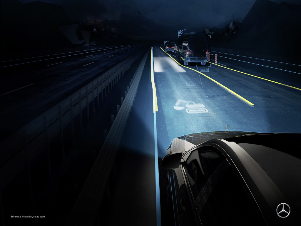 Mercedes-Benz S-Class DIGITAL LIGHT