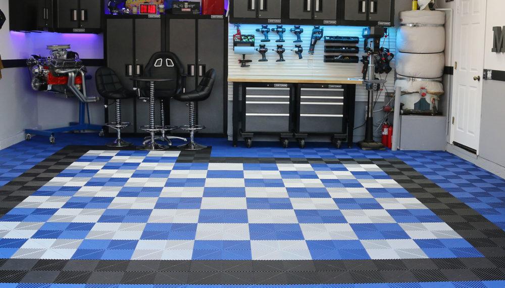 Swisstrax Ribtrax Pro Flooring Blue