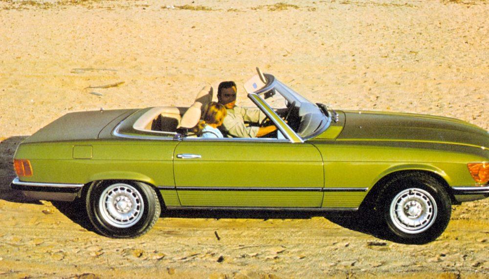 A Look back at the Mercedes-Benz SL R107