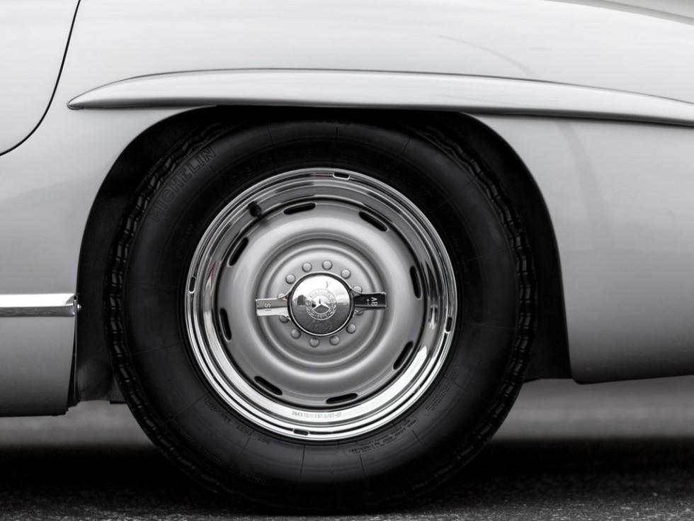 1955 Mercedes-Benz 300 SL Alloy Gullwing Wheel