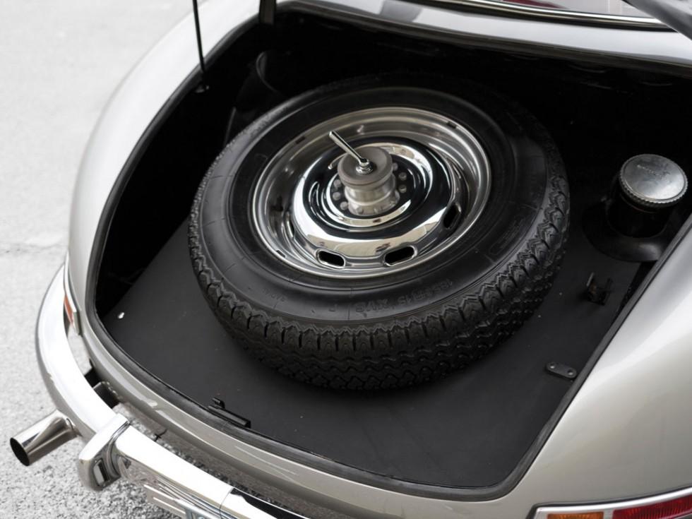 1955 Mercedes-Benz 300 SL Alloy Gullwing trunk