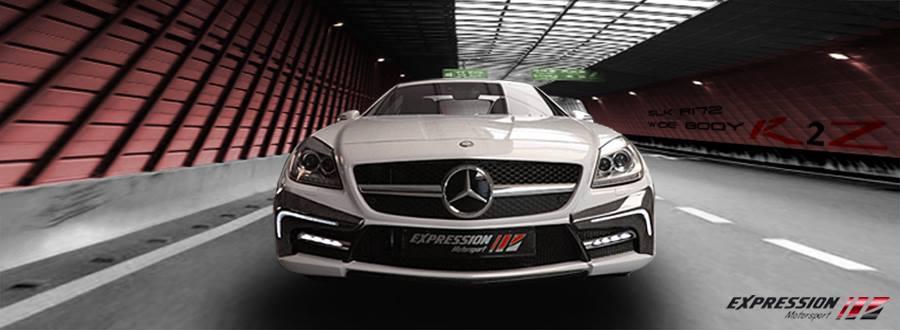 Mercedes SLK Receives a New Face from Expression Motorsport