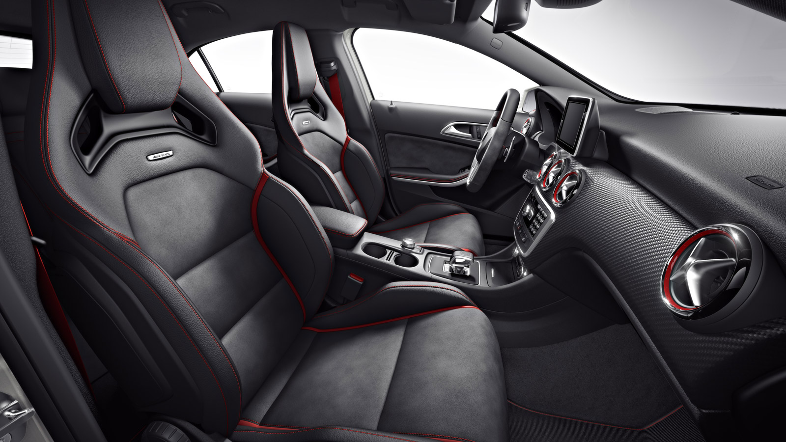 Mercedes A45 AMG Edition 1 Revealed interior
