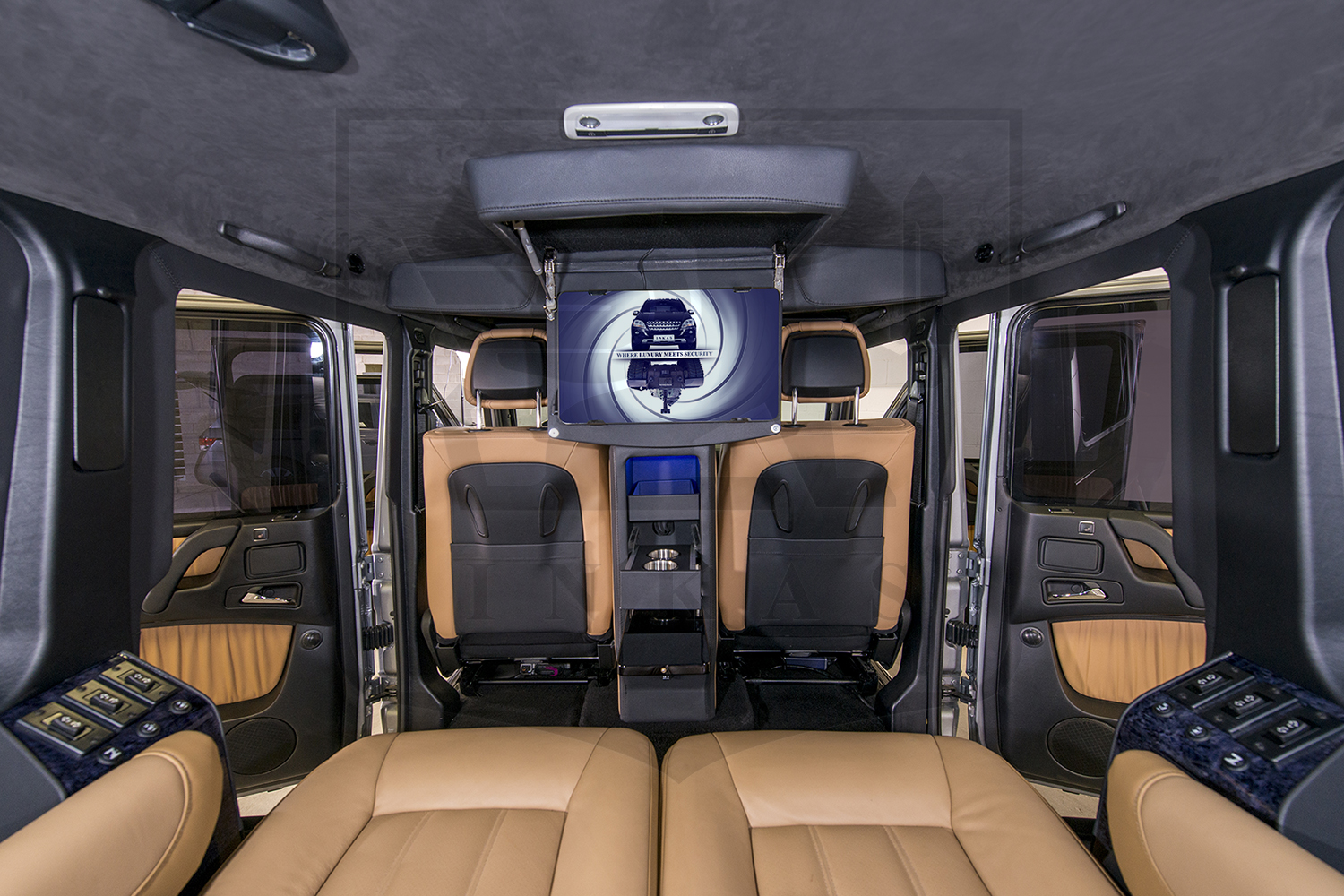 Mercedes G Class Suv >> Armored SUV Based on Mercedes-Benz G63 | eMercedesBenz