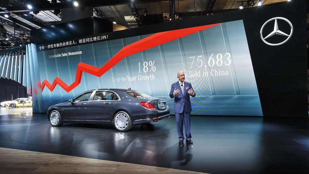 Mercedes-Benz at 2015 Auto Shanghai