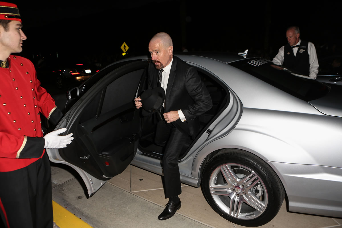 Celebrities Choose Mercedes-Benz for 2013 Awards Season