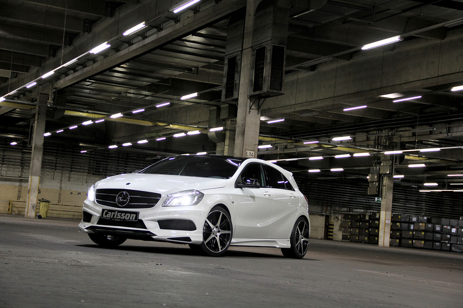 Carlsson Reveals Mercedes A-Class Upgrade Kit at 2013 IAA