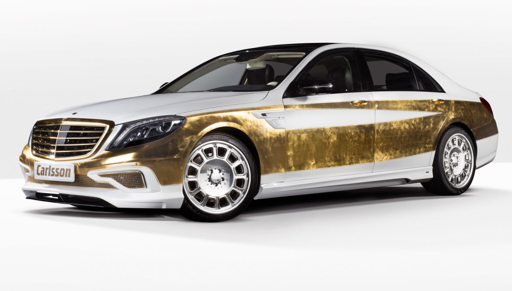 Gilded Mercedes-Benz S-Class Fit for a King