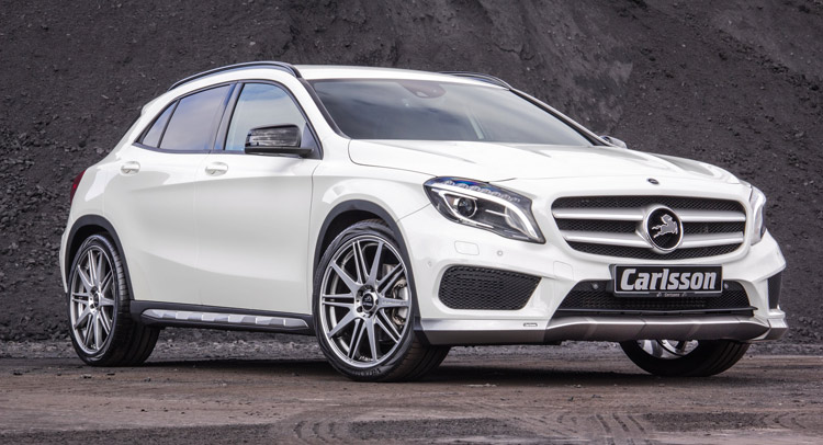 Carlsson Has a Go at Making the Mercedes-Benz GLA More Aggressive