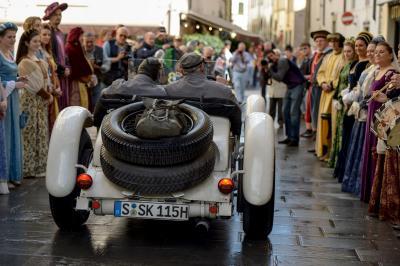 Mille Miglia 2013, Mercedes-Benz SSK (W 06, 1928).
