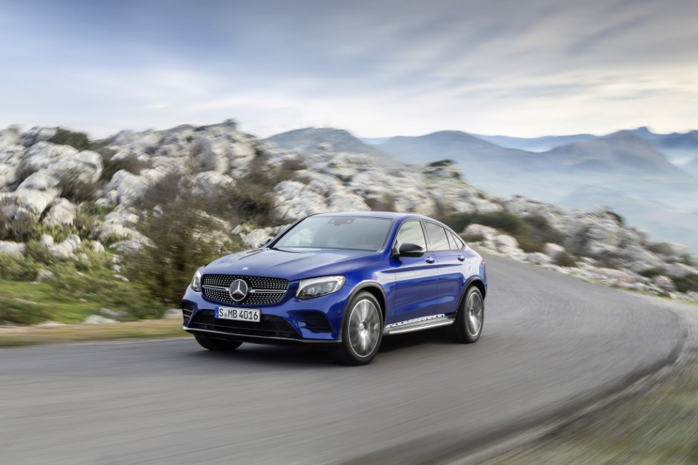 Green light for the Mercedes-Benz GLC Coupé: The sports car among SUVs becomes available to order