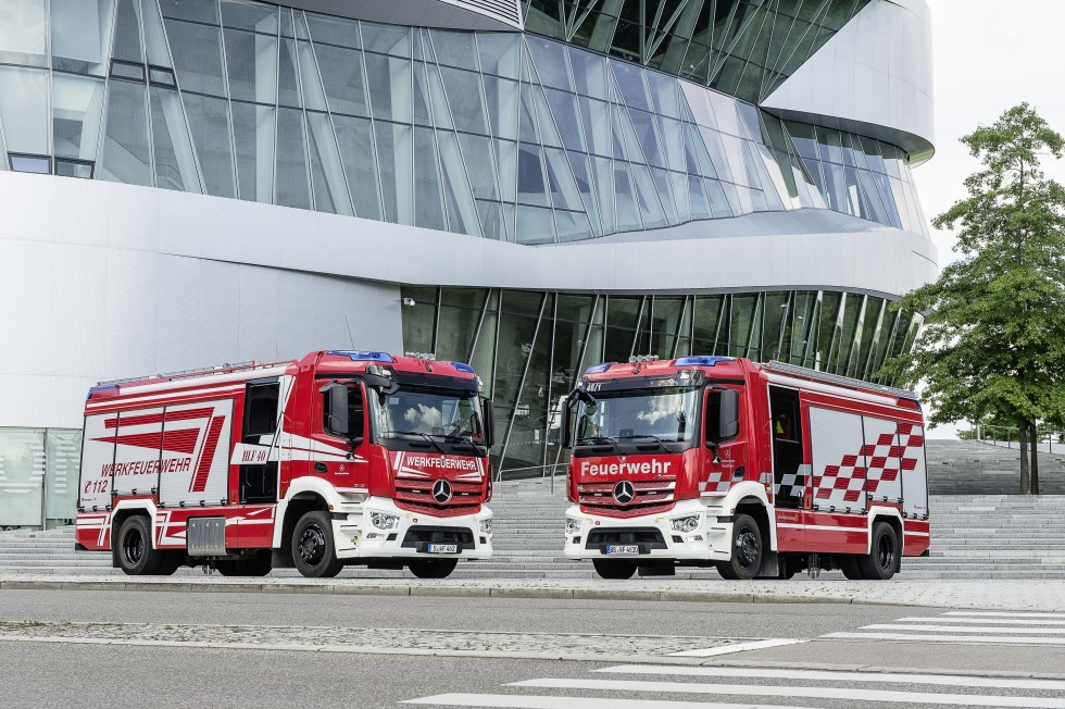 New trucks for plant fire departments are technological forerunners