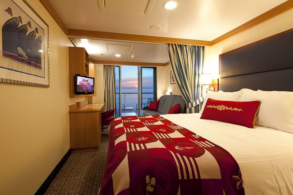 Disney Dream Cruise Deluxe Ocean View Stateroom