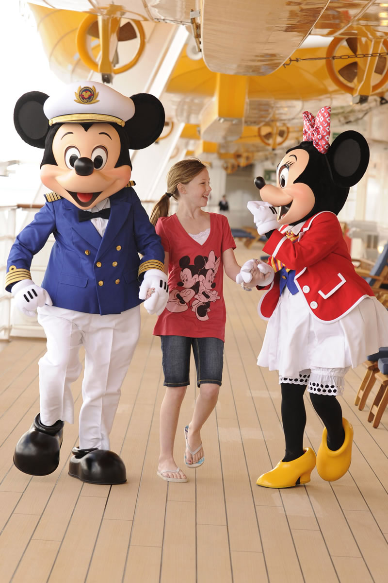 Disney Dream Cruise Mickey and Minnie Mouse
