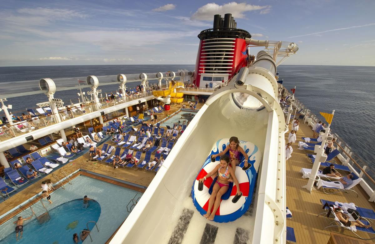Disney Dream Cruise Water Slide
